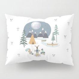 Camp Sleepy Moon (Large Print) Pillow Sham