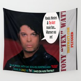 "The Tony 'Tex' Watt Jango Radio ""Plugged"" Album Poster Wall Tapestry"