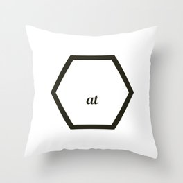 A cute & Cool Saying Annoying Tee Annoyed at first sight Throw Pillow