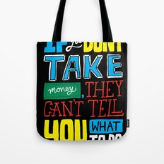 The key to the whole thing Tote Bag