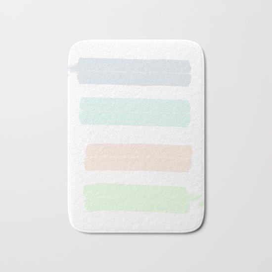 Pastel Aesthetic Bath Mat