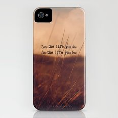 Live The Life iPhone (4, 4s) Slim Case