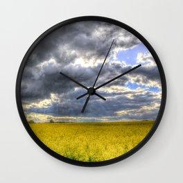 The Storm Arrives Wall Clock
