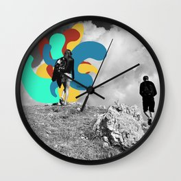 Indignaton Wall Clock