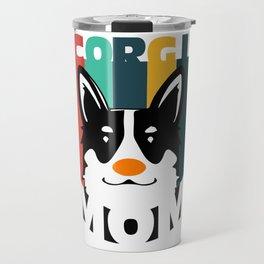 Corgi Mom Travel Mug