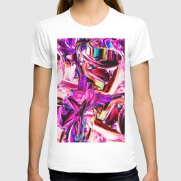 Colorful Abstract Liquid Paint IV T-shirt