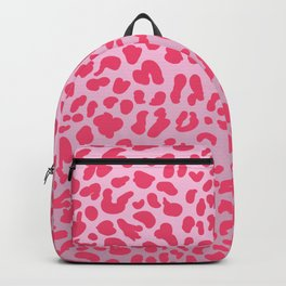Candy Pink Leopard Backpack