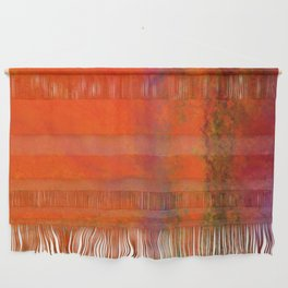 Orange Study #3 Digital Painting Wall Hanging