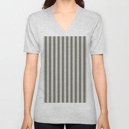 Wolf Gray Stripes Pattern Unisex V-Neck