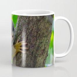 Squirrel monkey on a branch Coffee Mug
