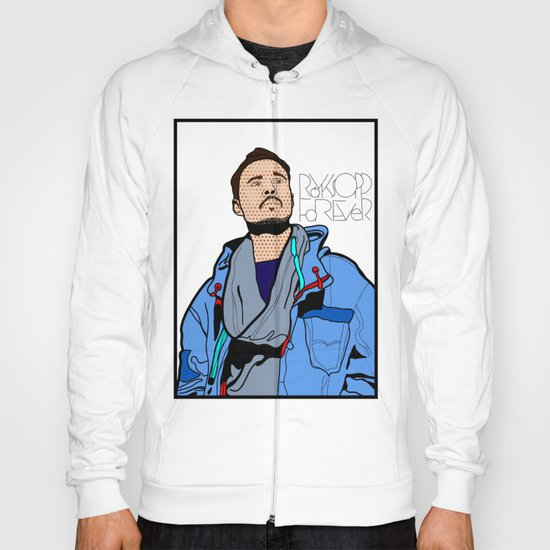 Röyksopp Forever Roy Lichtenstein Inspired Portrait 1 Hoody