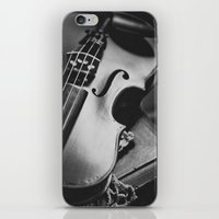 violin iPhone & iPod Skins featuring Violin by Jo Bekah Photography