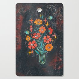 Poppies Cutting Board