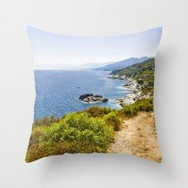 Corse 1.2 Throw Pillow