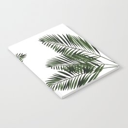 Tropical Exotic Palm Leaves I Notebook