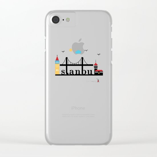Istanbul. Clear iPhone Case