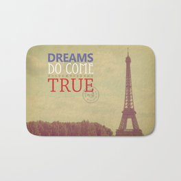 Dreams Do Come True Bath Mat
