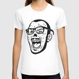 Owl Vision Logo (Zombie Face) T-shirt