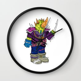 Post-Apocalyptic Kaiju Wall Clock