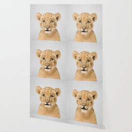Baby Lion - Colorful Wallpaper