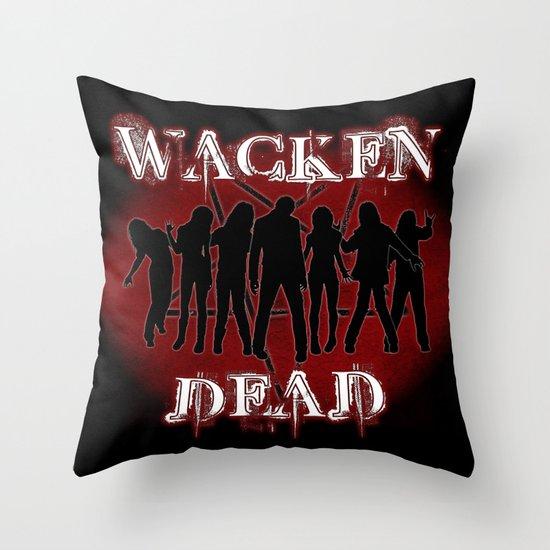 Wacken Dead Throw Pillow
