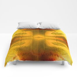 Agate in high contrast Comforters