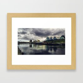 The Tyne Framed Art Print