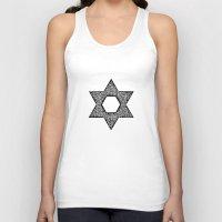 jewish Tank Tops featuring Star of David (Jewish star) by ZannArt Originals