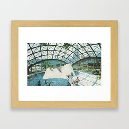 Adults Swim Framed Art Print
