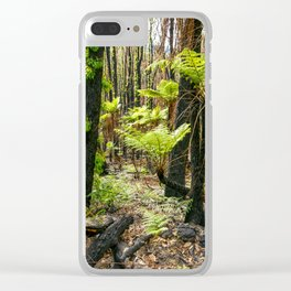 Rebirth After Bush Fire, Country Victoria Clear iPhone Case