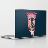 supreme Laptop & iPad Skins featuring Supreme by Hillary White
