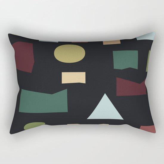 The Pattern Gets Worse III Rectangular Pillow