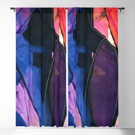 Abstraction 317 by Kathy Morton Stanion Blackout Curtain