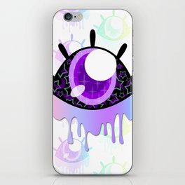 Melty Monster Eye iPhone Skin