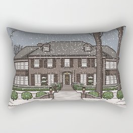 Home Alone Christmas Rectangular Pillow