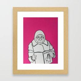 Grandma Framed Art Print