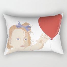 BOW BABY Rectangular Pillow