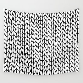 Hand Knitted Loops Wall Tapestry