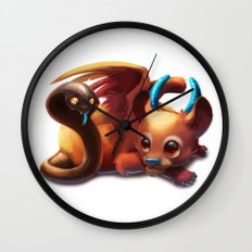 Baby Chimera Wall Clock
