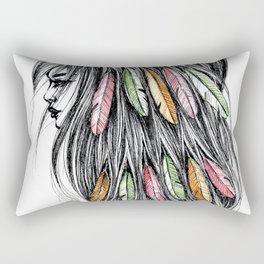GIRLZ - FEATHER Rectangular Pillow
