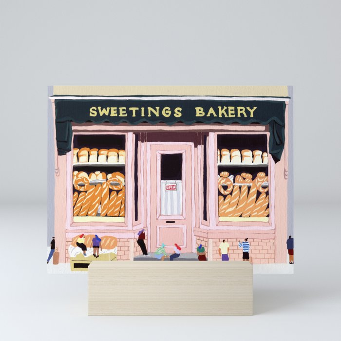 Sweetings Bakery Mini Art Print