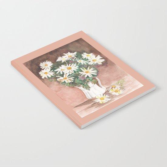 Still Life of Daisies Notebook