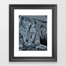 Love Like Lions Framed Art Print