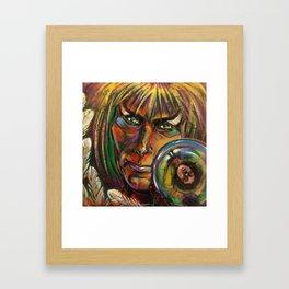 Lonely One Framed Art Print