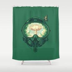 Last Goodbye Shower Curtain