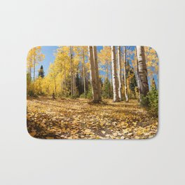 Crested Butte Colorado Fall Colors Panorama - #1 Bath Mat