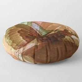 Mating Moths Floor Pillow