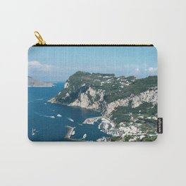 Italy, Capri Landscape View 2 Carry-All Pouch