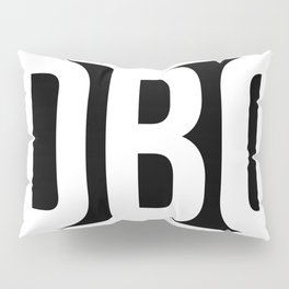 DBC with tag at bottom Pillow Sham