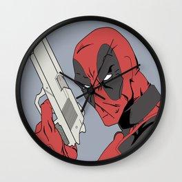 Deadpool Wall Clock